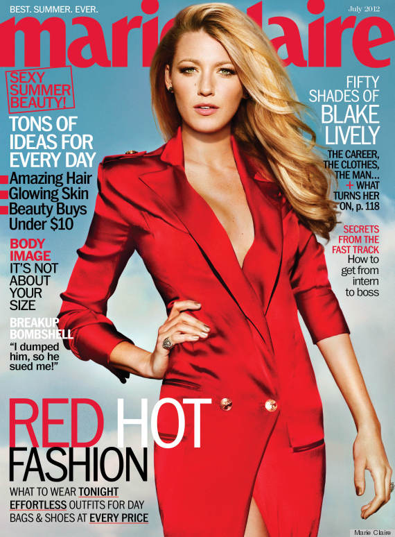 blake lively marie claire