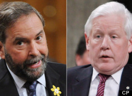 Liberal Ndp Merger Poll