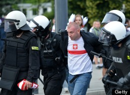 Russia Poland Football Violence