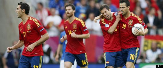 SPAIN EUROCUP 2012 SOCCER MELONS