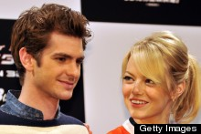 Emma Stone And Andrew Garfield Colour Co-Ordinate At Spider-Man Press Conference