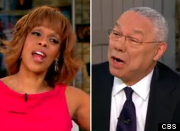 Gayle King Colin Powell