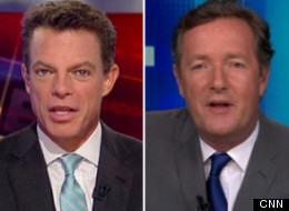Shep Smith Piers Morgan