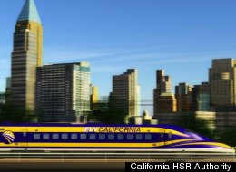 California Bullet Train Speed