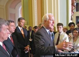 GOP Senate Campaign Boss Flip-Flops