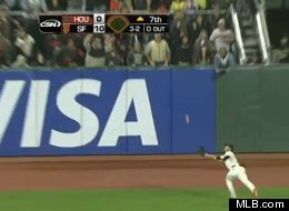 Gregor Blanco Catch