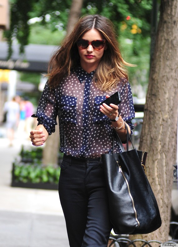 Miranda Kerr Sheer Shirt How To Not Dress Like A Wife Photos