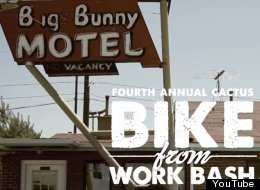 WATCH: Bikes Love Bikes (And The Bike From Work Bash)