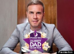 Gary Barlow Named Celebrity Dad Of The Year