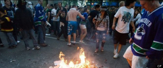 Jeffrey Chatman Vancouver Hockey Rioter Charged Over