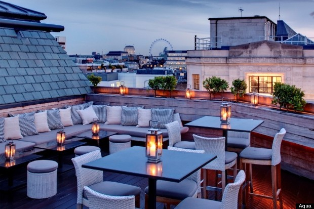 London 39 s rooftop restaurants dine with a view for Top of the terrace restaurant
