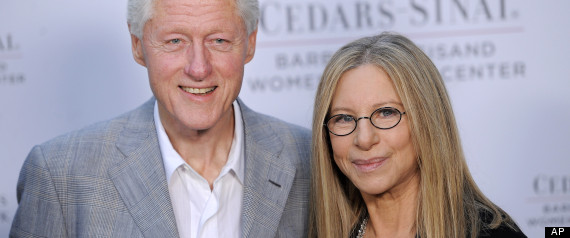 Barbra Streisand Bill Clinton