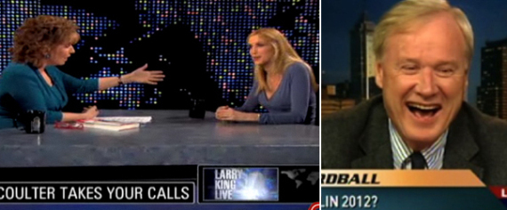 Ann Coulter: Chris Matthews Wants To Have Sex With Barack Obama (VIDEO