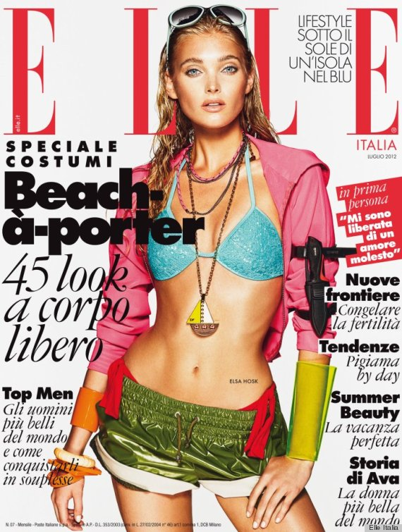 elle italia july 2012 cover