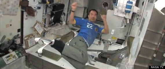 OLYMPICS IN SPACE
