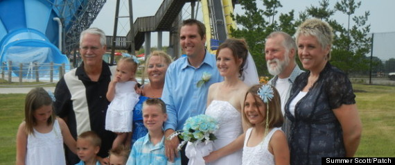 MARRIED AT WATER PARK