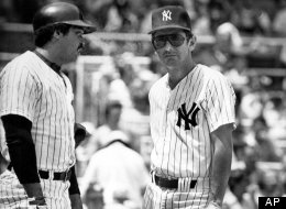 Reggie Jackson Billy Martin