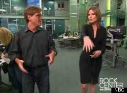The Newsroom Aaron Sorkin Walk