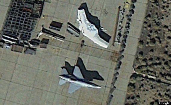 Mystery Drone Google Maps Image Seems To Show UAV At Lockheed - Drone maps google