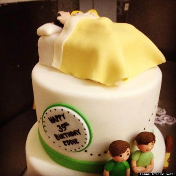 leann rimes cake