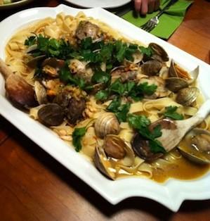 pasta clam sauce