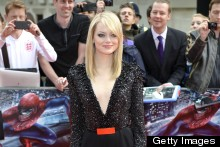 Emma Stone Is Stunning In Sparkling Jumpsuit At Spider-Man Premiere