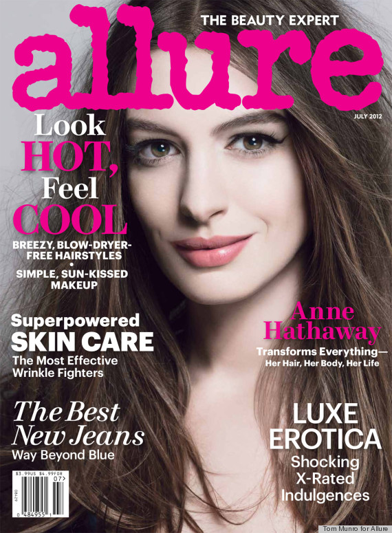Anne Hathaway Talks Nudity and Fear of Her Catwoman Suit in Allure: Anne ...