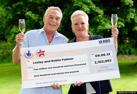 National lottery winners