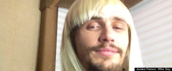 James Franco Blond Wig