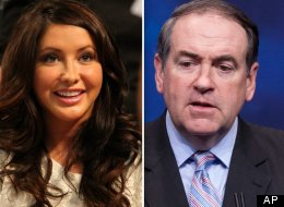 Bristol Palin Mike Huckabee