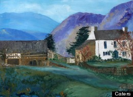 Which Notorious Criminal Painted This Idyllic Landscape?