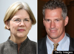Scott Brown Elizabeth Warren Fundraising