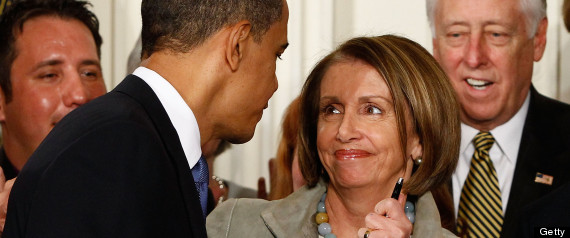 Nancy Pelosi Obama Debt Ceiling 14th Amendment