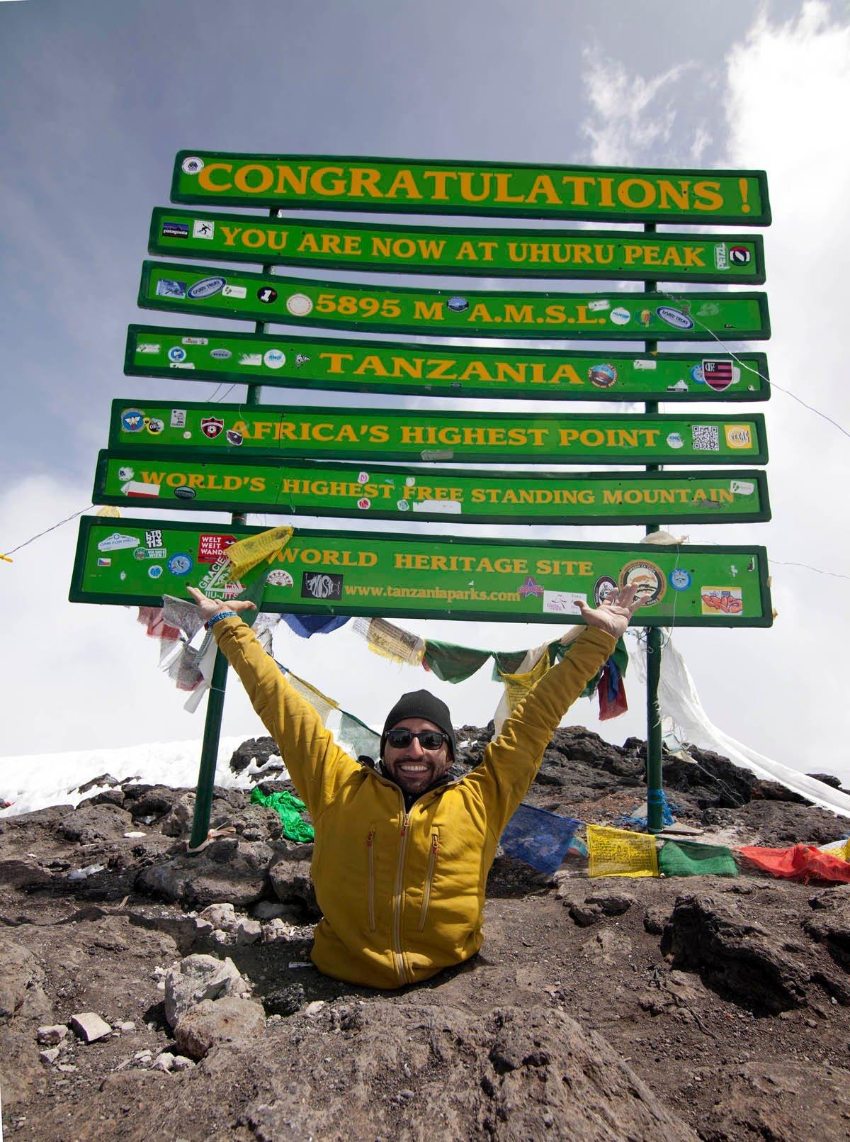 spencer west kilimanjaro