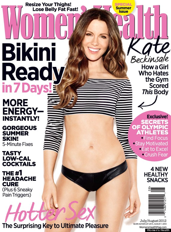 kate beckinsale womens health