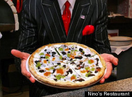 Ninos Restaurant 1000 Dollar Pizza Caviar