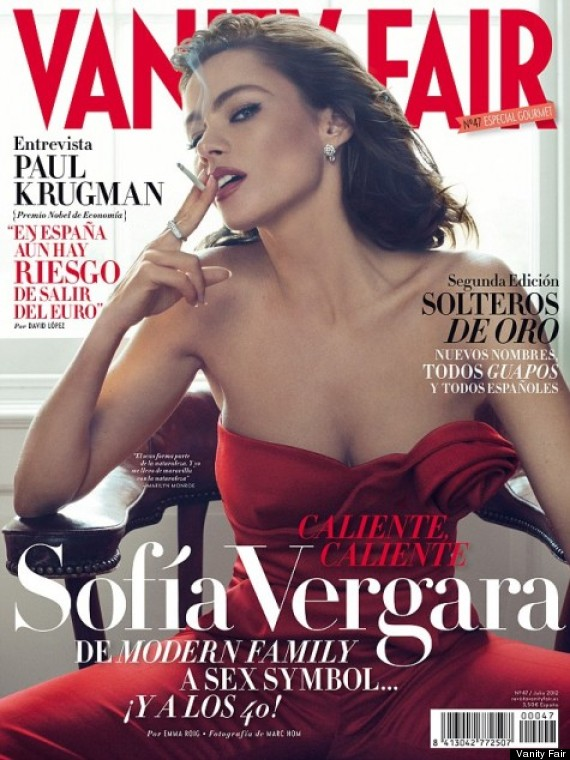 sofia vergara vanity fair spain