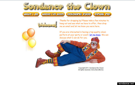 sondance clown