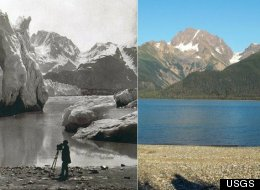 Glacier Retreat Then And Now