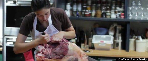 FEMALE BUTCHER SARA BIGELOW