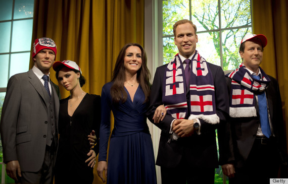 wax figures kate middleton