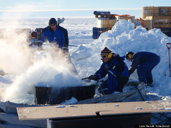 antarctic drillers