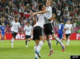 Euro-2012: L'Allemagne remporte le «derby de la dette» (VIDÉOS)