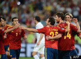Victoire de l'Espagne, la France éliminée
