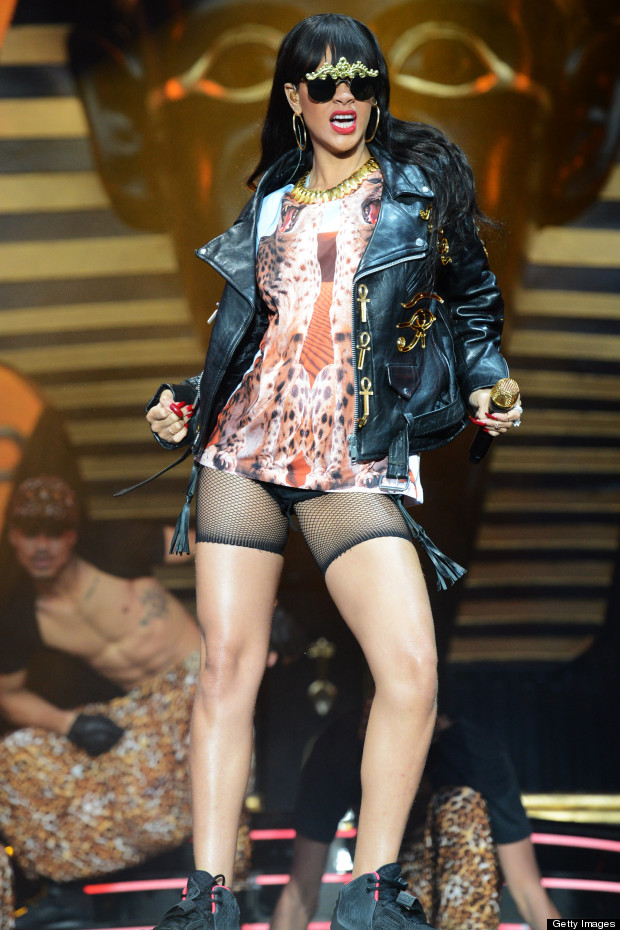 rihanna hackney weekend
