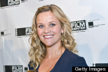 Pregnant Reese Witherspoon Goes Curly To Pick Up Film Award In Chicago