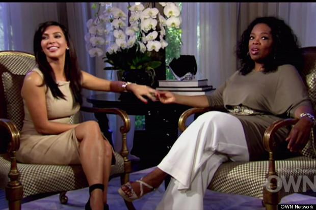kim kardashian oprah