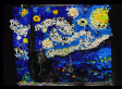 Vincent Van Gogh's 'Starry Night' Made From 7,000 Dominoes (VIDEO)
