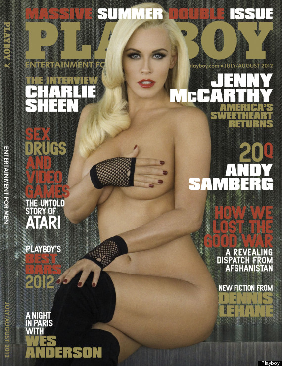 jenny mccarthy playboy july 2012