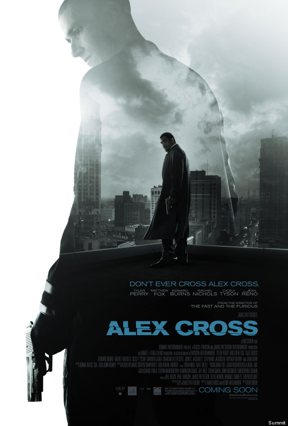 alex cross movie poster